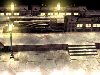 Midgar train