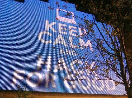 Keep Calm and Hack For Good