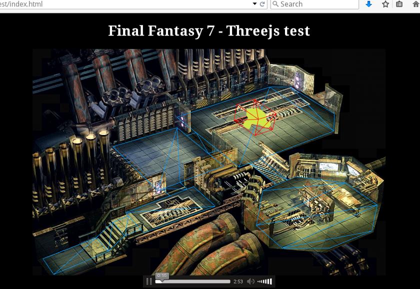 Final fantasy scene